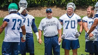 The Dallas Cowboys fired OL Coach Paul Alexander and promoted Marc Colombo