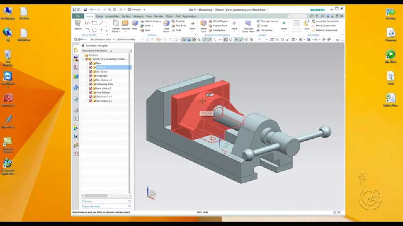Siemens NX 9 0 - Zip Assembly User Guide