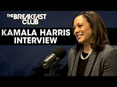 Senator Kamala Harris On Education, Decriminalizing Weed, Gun Control & Why Debating Is Important