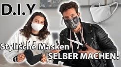 Mundschutz Maske EINFACH selber machen D.I.Y