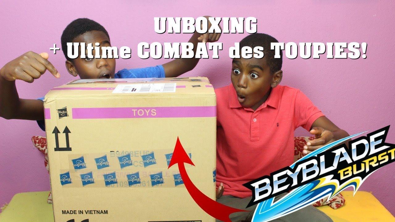 Ouverture Colis HASBRO et Combat TOUPIES BEYBLADE BURST (Unboxing) 😱💯 |  K-Boyz TV