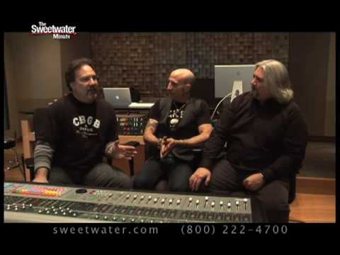 Sweetwater Minute - Vol. 24, Pro Drum Recording Techniques w/Ross Hogarth and Kenny Aronoff