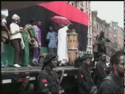 #1 New Black Panther Million Youth March (Olatunji & Afrikan dancers)