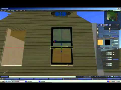 East Carolina University Early College Second Life Program 2009 Pilot video