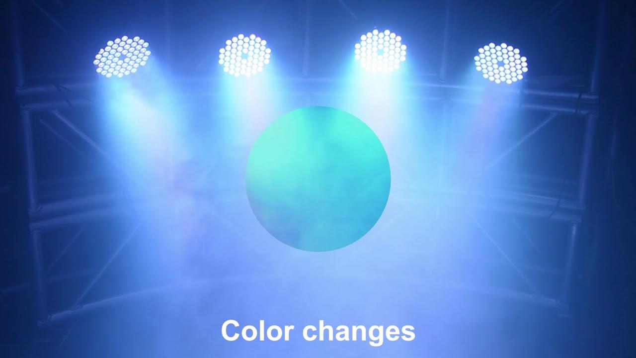 Betopper Lpc007 Par Led Stage Light 54x3w Rgb Wash Professional Music Lighting