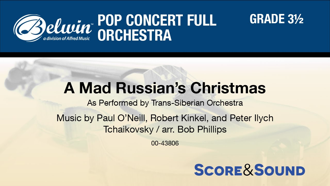 A Mad Russian's Christmas, arr. Bob Phillips - Score ...