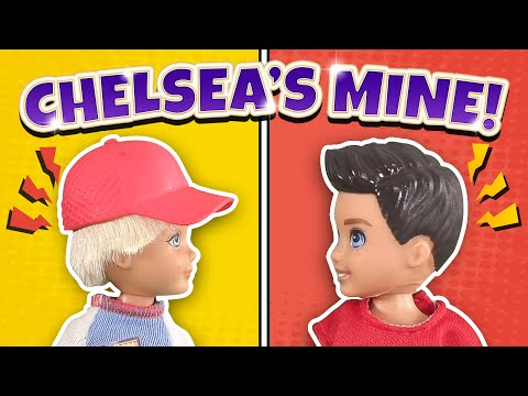 Barbie - Chelsea's Mine! Darrin vs Cole | Ep.155