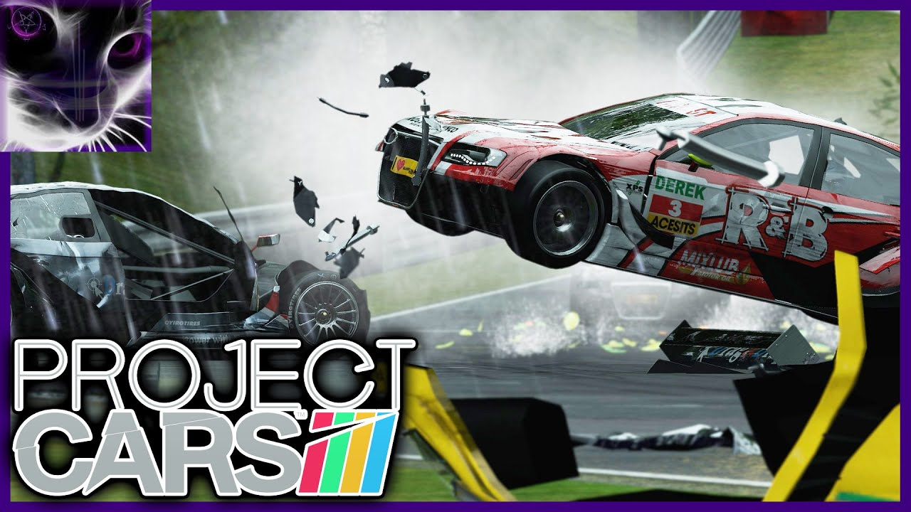 Project Cars Crash Compilation Youtube