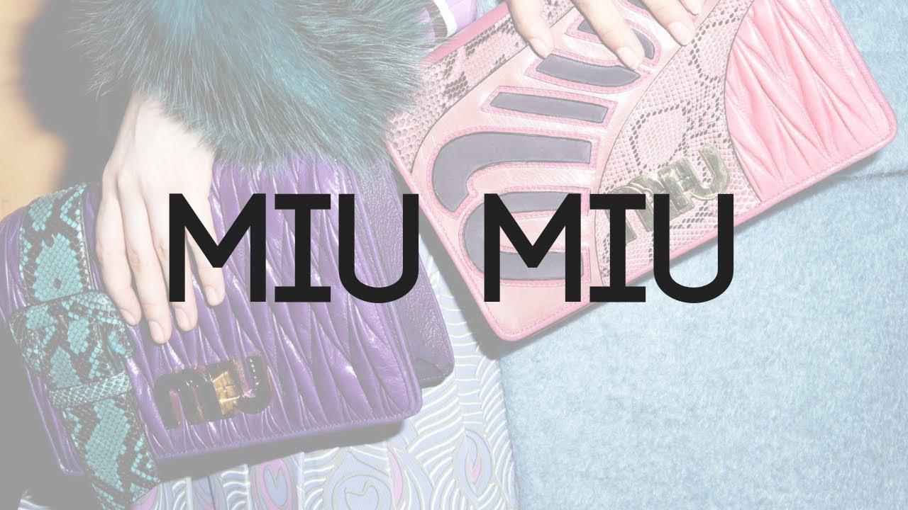 Bolsa Miu Miu Original - Como Identificar  miumiubag  bolsamiumiu ... c926e43d71