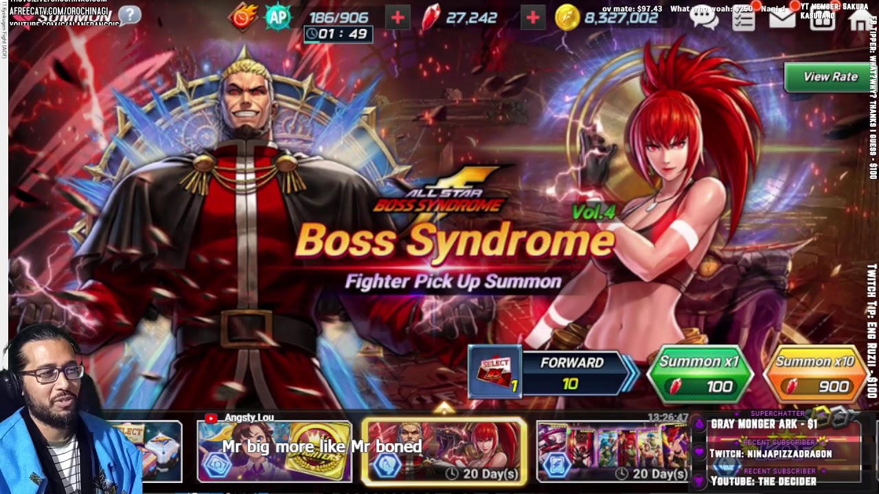 Download BS Goenitz and Leona Summon Battle - KOFAS -ON Casino & Social Club-