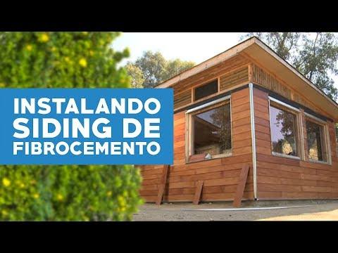 C mo instalar siding de fibrocemento youtube - Casas de madera ...