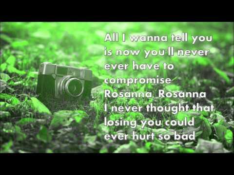 Rosanna! TOTO!  Lyrics!