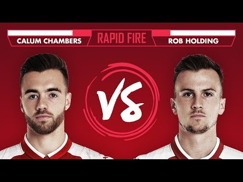 MESSI, HARRY POTTER & THE FRESH PRINCE OF BEL AIR THEME?   Chambers v Holding - Rapid Fire