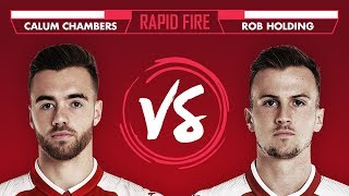 MESSI, HARRY POTTER & THE FRESH PRINCE OF BEL AIR THEME? | Chambers v Holding - Rapid Fire