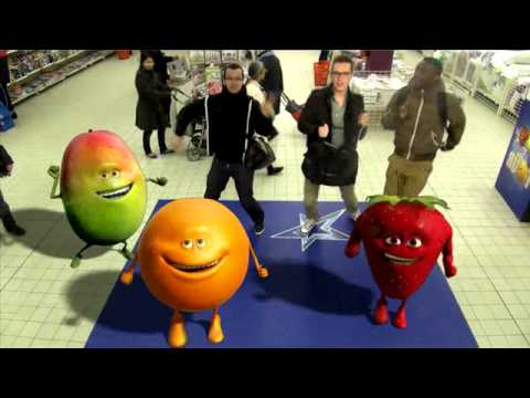 Oasis Fruit Tour  - Zakaria Patrick Valentin Derrouzi Ndombe Herbinier - Auchan - Cergy