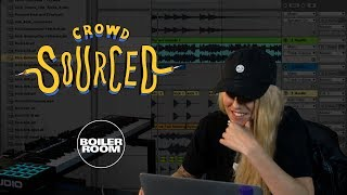 Flava D makes beats from sounds you send in | Boiler Room 'Crowdsourced'