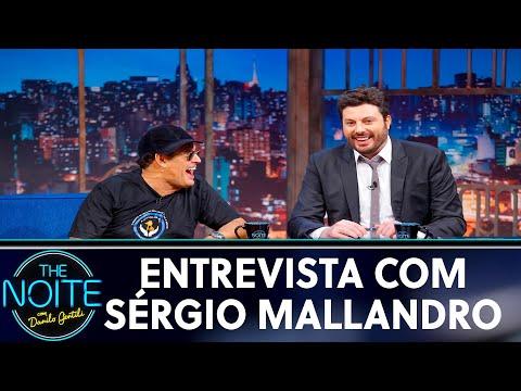 Entrevista com Sérgio Mallandro  The Noite 230519