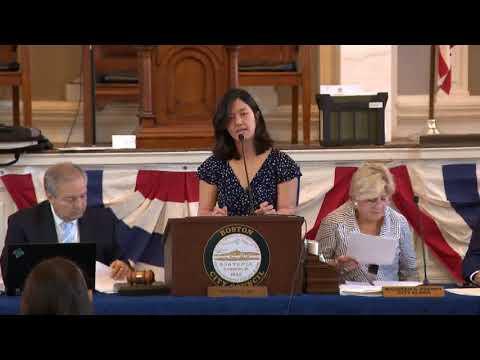 Boston City Council on September 13, 2017