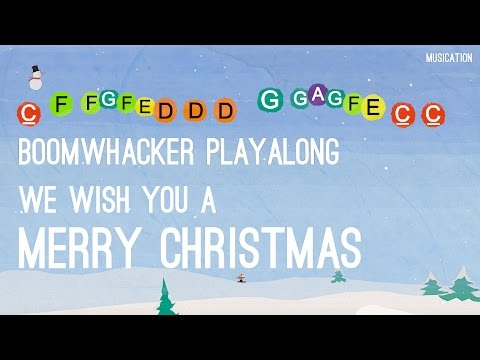 We Wish You a Merry Christmas - Boomwhackers