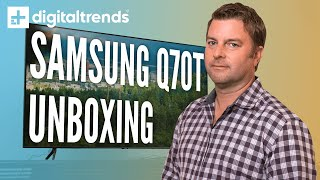 Samsung Q70T 4K HDR TV | Unboxing, Setup, Impressions