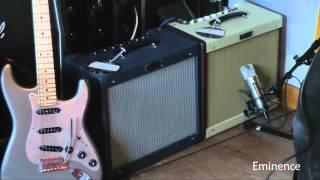 Speaker vs Speaker - V30 vs Cannabis Rex - Limited Edition Fender Blues Junior III