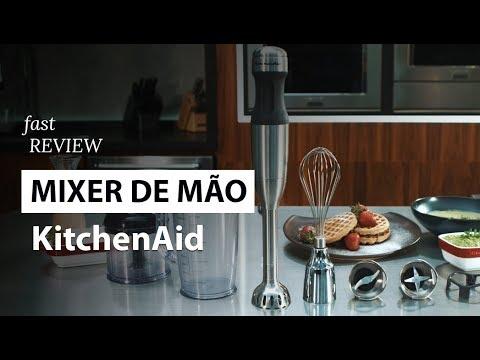 Mixer de mão 5 velocidades KitchenAid   Fast Review   Fast Shop