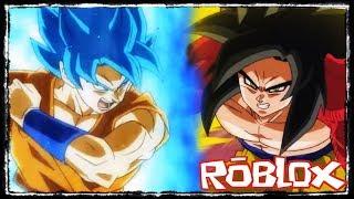 ROBLOX: NOUVEAU TRANSFORMATION (SUPER SAIYAJIN 4)?!? -DB INFINITY - Dray