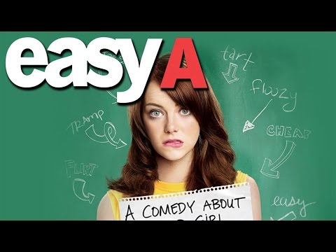 Emma Stone Is The School Slut In EASY A - Movie Review