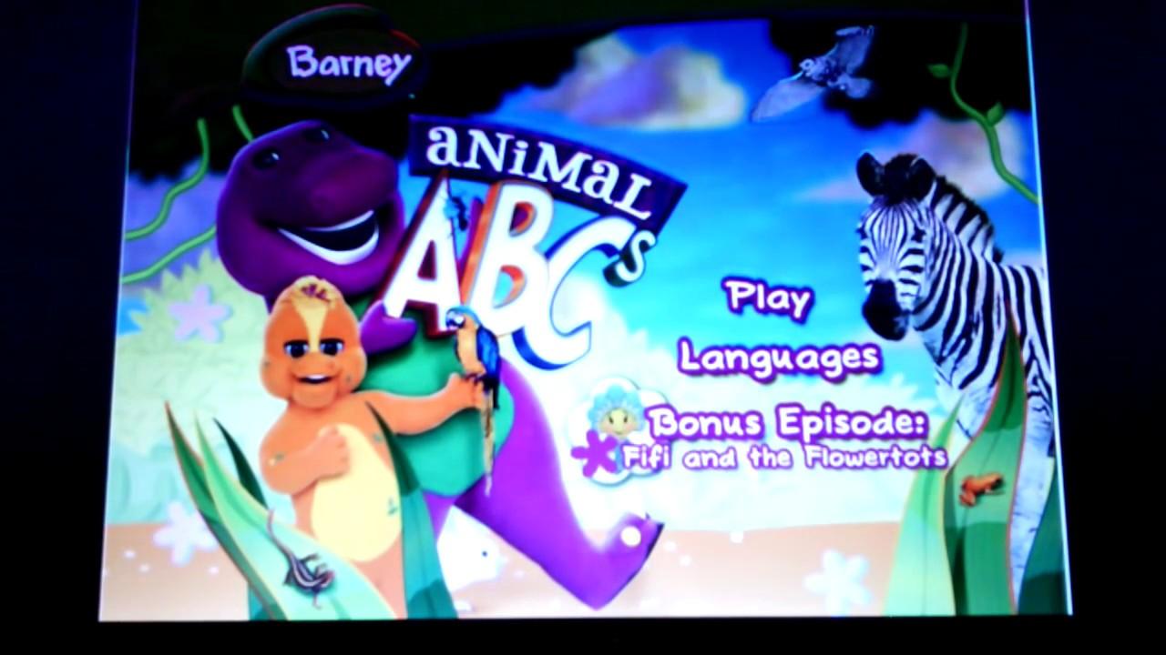 Barney Animal Abcs Youtube