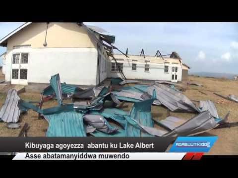 Kibuyaga agoyezza abantu ku Lake Albert