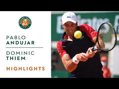Pablo Andujar vs Dominic Thiem - Round 1 Highlights | Roland-Garros 2021
