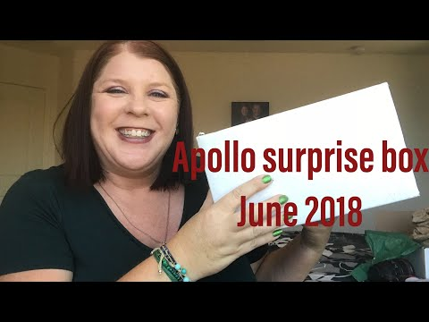 *NEW SUBSCRIPTION BOX* //APOLLO SURPRISE BOX// JUNE 2018// UNBOXING