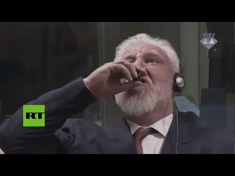 Muere el criminal de guerra que tomó veneno durante el juicio en La Haya