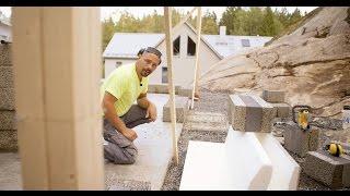 bjrn bygger bo attefall avsnitt 1 gjutning och murning
