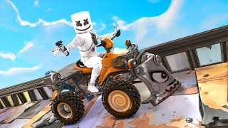 Marshmello Concert Gets DESTROYED! Fortnite Funny Moments
