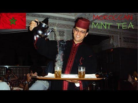 How to make Moroccan Mint Tea / طريقة تحضير اتاي المغربي