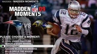 LETS PLAY MADDEN 09 MADDEN MOMENTS PART 4 - ME AND BRADY TEAM UP!