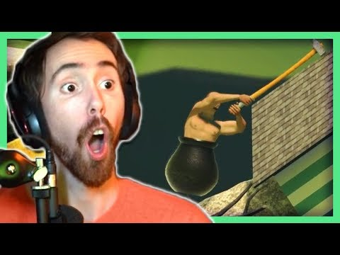 Asmongold: First Time Playing Getting Over It (THE LITERAL GOD)