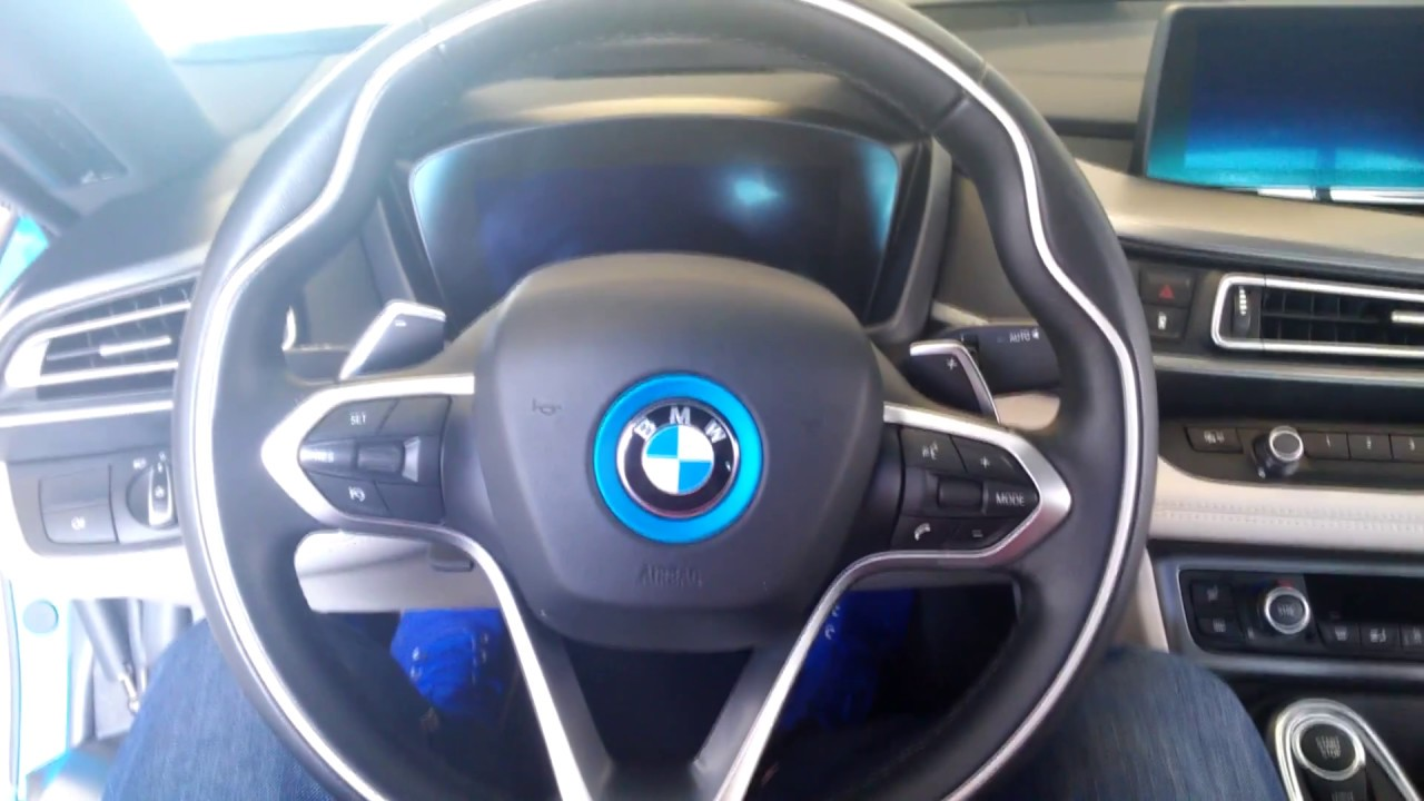 Bmw I8 Protonic Blue Plug In Hybrid Youtube