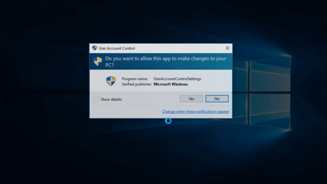 Easily Disable User Account Control UAC