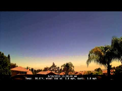 Chino Hills Time-Lapse 6/16/15