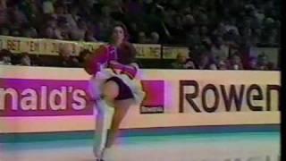 Bestmianova & Bukin (URS) - 1984 Worlds, Ice Dancing, Free Dance