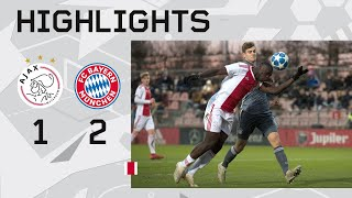 Highlights Ajax O19 - Bayern München O19 (Youth League)