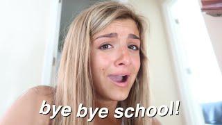 my last day of school vlog *emotional*