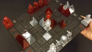 Laser Game Khet 2.0 - How to Play and Overview