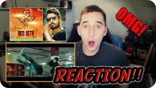 (S3) SINGHAM 3 TEASER TRAILER REACTION!!!| THIS GUY IS A LION!!