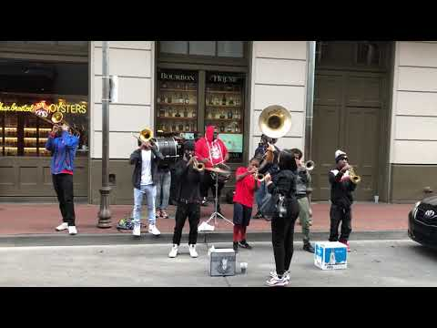 WOW, just Wow! Bourbon Street Jazz Band in New Orleans (2019)