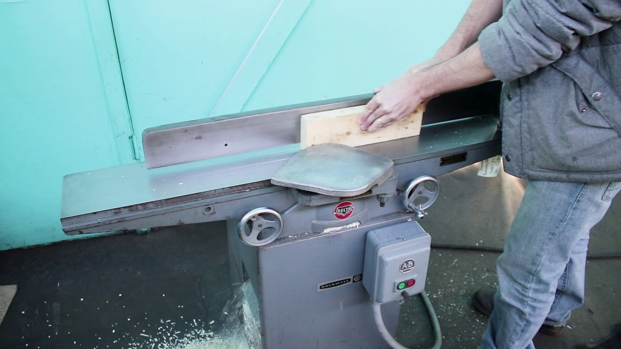 Rockwell Delta 6 Deluxe Jointer
