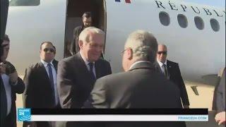 وزير الخارجية الفرنسي في زيارة رسمية للجزائر