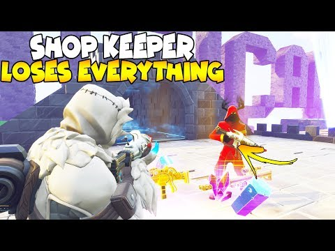Shop Keeper Is Quitting Save The World! 😢😱 (Scammer Gets Scammed) Save The World